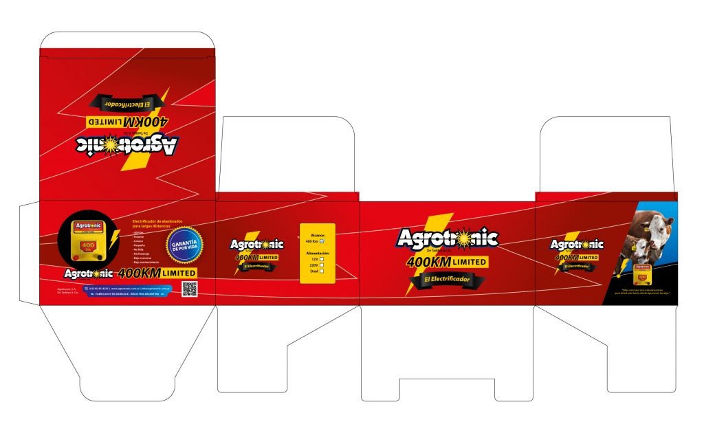 packaging caja Agrotronic