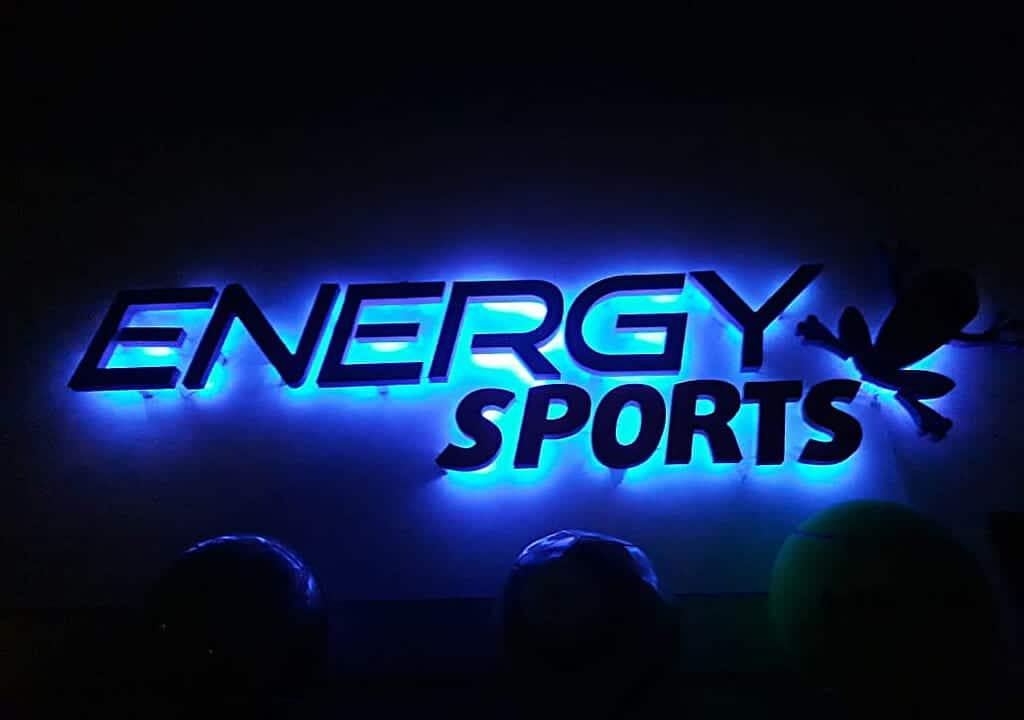 cartel Energy blue LED night