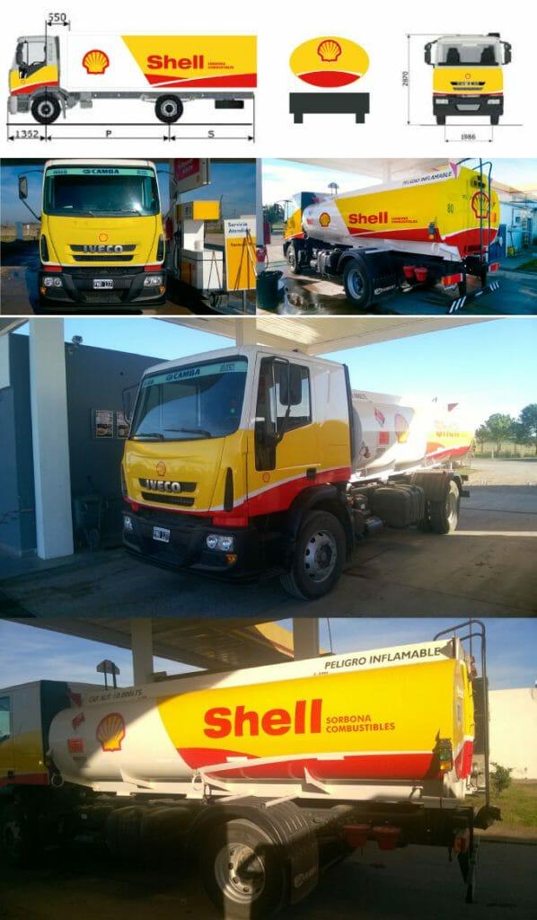 Camión Shell El Oasis