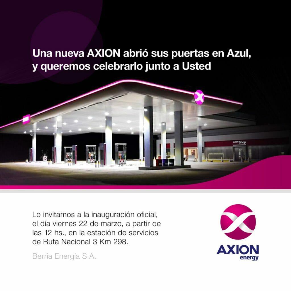 invitación digital Axion