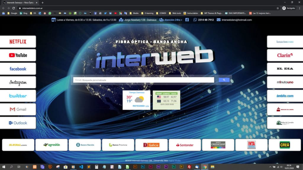 Partal web Interweb