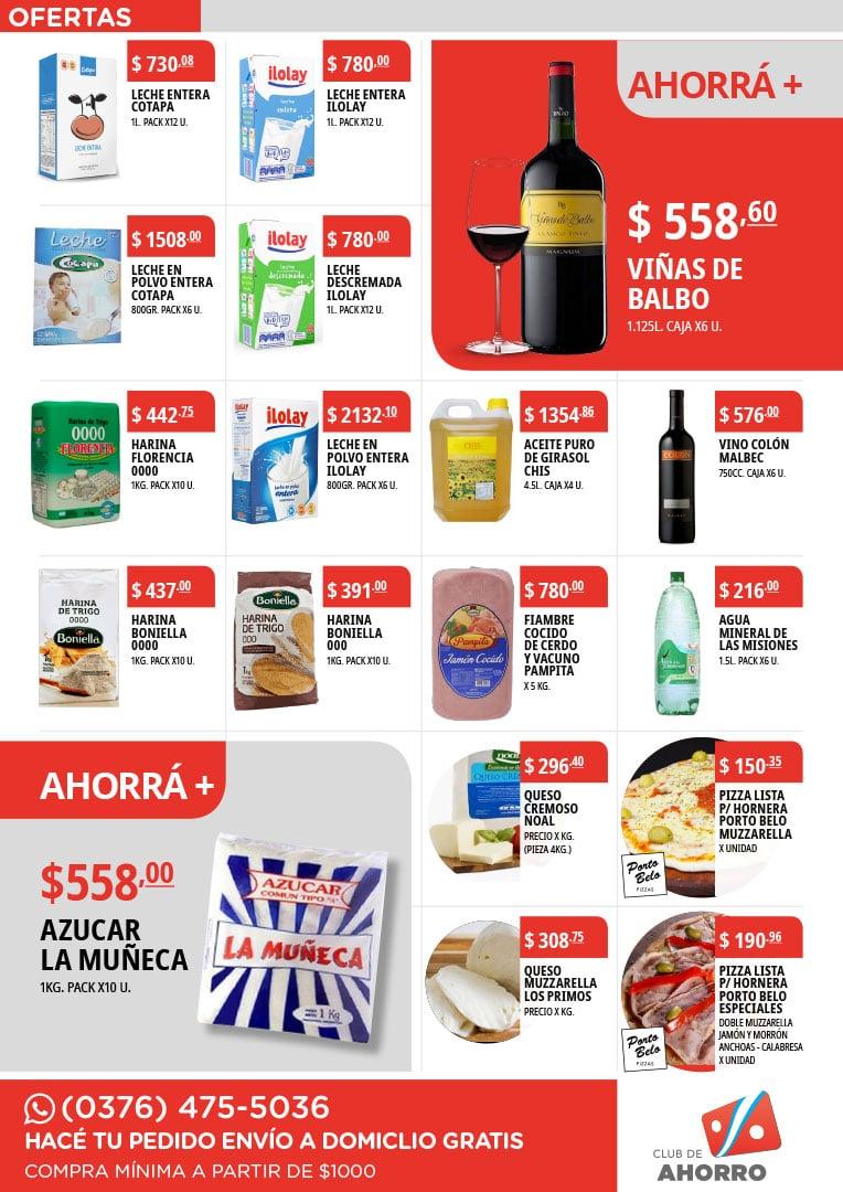 Diseño de catálogo de productos alimenticios